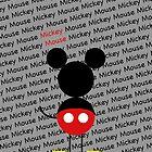 Mickey iphone case by JohnRex