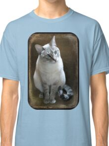 Lilac Point Siamese ~ Old Blue Eyes Classic T-Shirt
