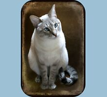 Lilac Point Siamese ~ Old Blue Eyes Unisex T-Shirt