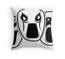 Emotions. Throw Pillow