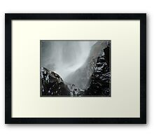 Zillie Falls Framed Print
