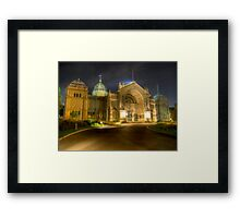 Exhibition (HDR) Framed Print