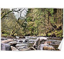 River Devon at Vicar's Bridge Poster