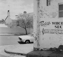 Street scene with car by Jen49