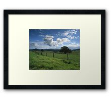 """""""Living the Dream"""" ∞ Mount Barney, QLD - Australia Framed Print"""