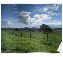 """Living the Dream"" ∞ Mount Barney, QLD - Australia Poster"