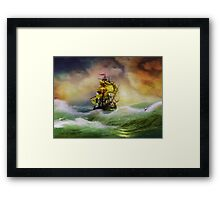 L'Indomptable, New Day - New Chance Framed Print
