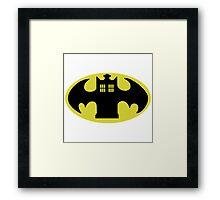 Police Batman Framed Print