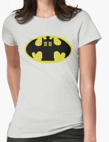 Police Batman Womens Fitted T-Shirt