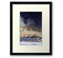 spark to flame Framed Print