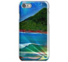 Surf at The Boulders, Port Stephens NSW, Australia iPhone Case/Skin