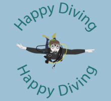 Happy Diving One Piece - Short Sleeve