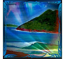 Surf at The Boulders, Port Stephens NSW, Australia Photographic Print