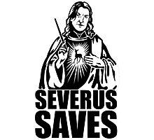 Severus Snape Gods Photographic Print