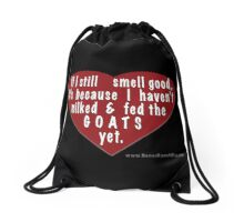 Smelly goats Drawstring Bag