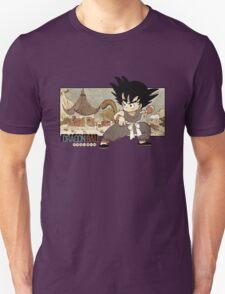 Son Goku on Mt. Paozu T-Shirt