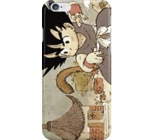 Son Goku on Mt. Paozu iPhone Case/Skin