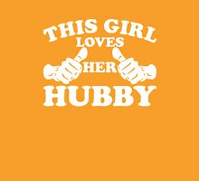 This Girl Loves Her Hubby Womens Fitted T-Shirt