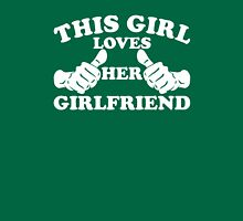 This Girl Loves Her Girlfriend Womens Fitted T-Shirt
