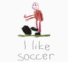 I like soccer by stuwdamdorp