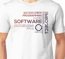 Programmer : Typography Programming -  color Unisex T-Shirt