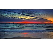 As Light Fades Upon the Shore Photographic Print