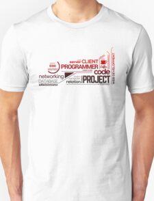 Programmer : Typography Programming - 2 T-Shirt