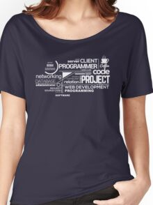 Programmer : Typography Programming - 2 Women's Relaxed Fit T-Shirt