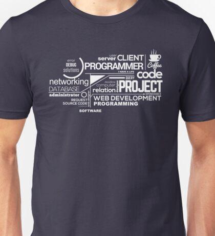 Programmer : Typography Programming - 2 Unisex T-Shirt