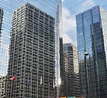 The City of Calgary Reflections by Ryan Davison Crisp