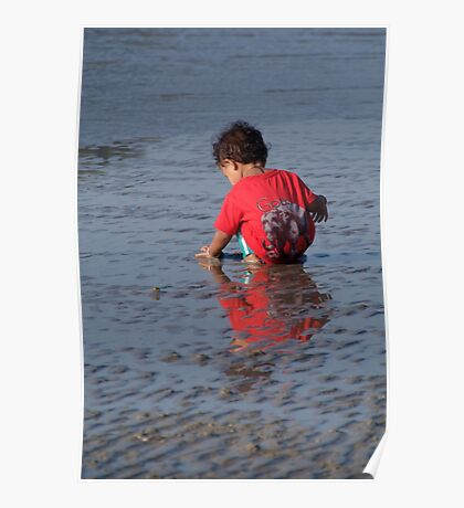 Baby in Red Goa T-Shirt Palolem Poster