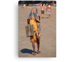 Beggar on Palolem Beach Canvas Print