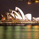 Sydney Opera House by night  by Chris Cohen