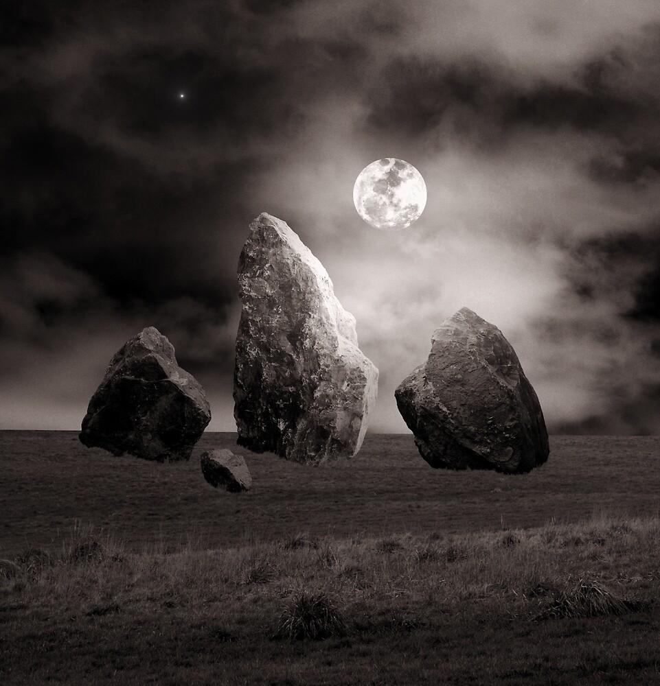 Moonlit Stones by Christine Lake