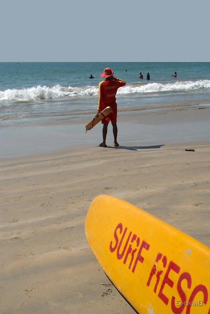 Surf Rescue Palolem by SerenaB