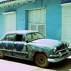 American car, Trinidad, Cuba by buttonpresser