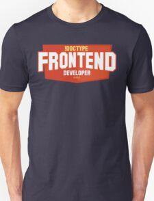 front end developer html5 T-Shirt