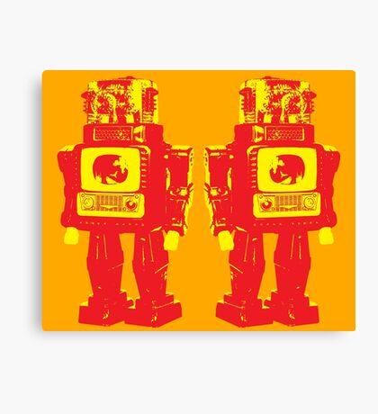 Robot Robot Canvas Print
