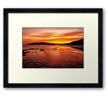 Whisky Morning Framed Print