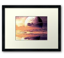 Flightpath Framed Print