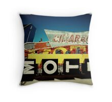 Neon Cimarron Throw Pillow