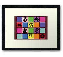 pixel pals Framed Print