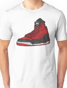 Shoes Flight Red (Kicks) Unisex T-Shirt