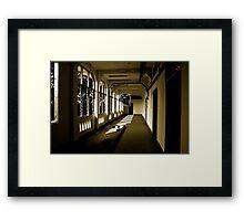 Lavender Ghost Framed Print
