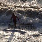 The Surf is strong - El Oleaje está fuerte by PtoVallartaMex