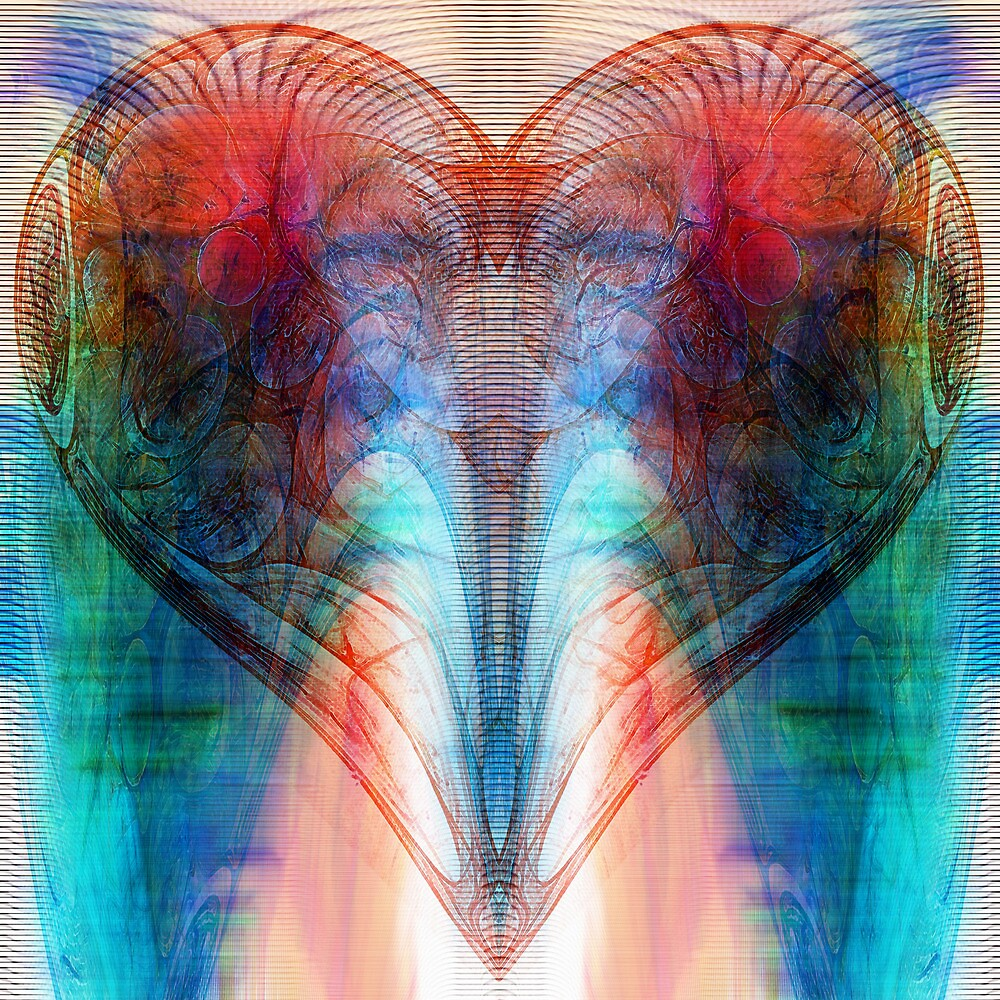 Heart (Variation) by Benedikt Amrhein