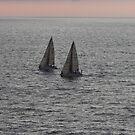 Sailing togehter  - Navegando a Vela los dos by PtoVallartaMex