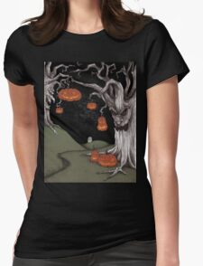 Wicked Forest Womens Fitted T-Shirt