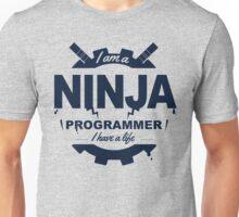 programmer : i'm a ninja programmer Unisex T-Shirt