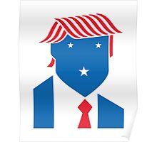 Minimalist President Trump Poster
